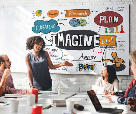 boardroom: Imagine Imagination Expect Creative Sketch Concept