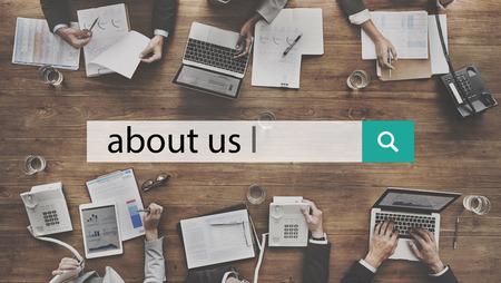 A propos de nous Détails Contact Info Communication de données Concept