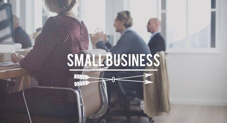 local business: Small Business Start Up Ownership Local Business Concept