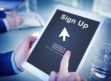 place to learn: Sign Up Register Join Applicant Enroll Enter Membership Concept