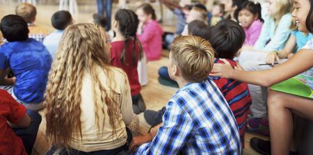 compa�erismo: Child Companionship Diversity Ethnicity Unity Concept Foto de archivo