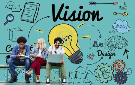 campus: Vision Creative Ideas Design Concept