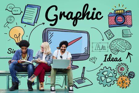 Gráfico Concepto Visual Art Creative Design
