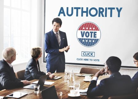 authority: Authority Leader Ruler Politics Concept
