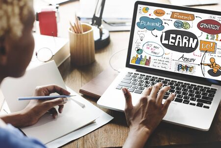 Leer Leren Onderwijs Ontwikkeling Kennis Concept