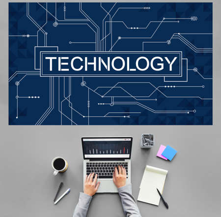 using computer: Advanced Technology Innovation Development Evolution Concept