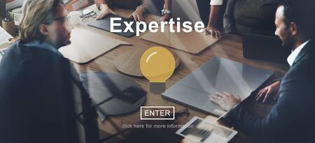 Expertise Excellence Ability Brilliant Concept Stock Photo