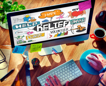 carefree: Relief Carefree Relaxation Cure Help Aid Support Concept