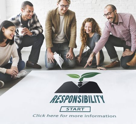 responsibility: Responsibility Roles Duty Task Obligation Responsible Concept