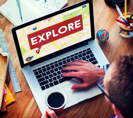 exploring: Explore Exploring Experience Travel Adventure Concept