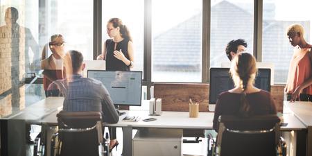 Samenwerking Planning Sharing Ondersteuning Business Concept