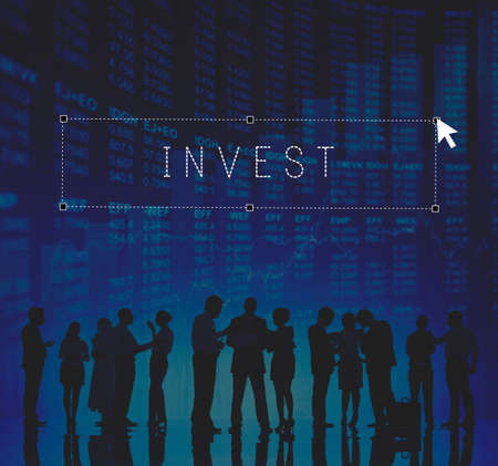 Invest Investment Investing Finance Money Concept Stock Photo
