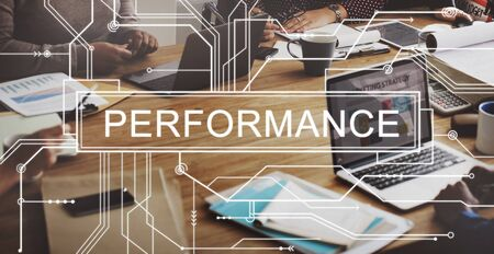 fulfilment: Performance Skill Experience Accomplishment Concept Stock Photo