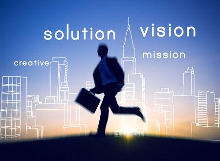 visionary: Visionary Vision Visional Idea Creativity Ambition Concept Stock Photo