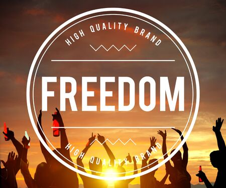 freedom: Free Freedom Independence Peace Rights Liberty Concept Stock Photo