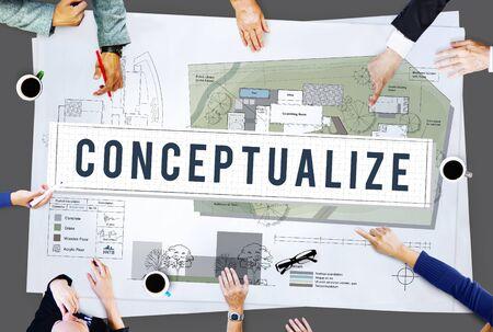 intention: Conceptualize Ideas Creative Imagination Plan Intention Concept
