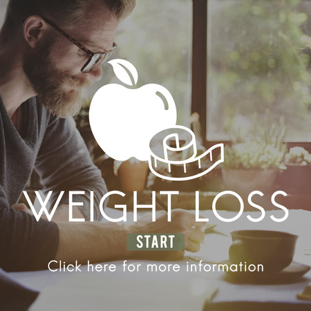 negocios comida: Weight Loss Diet Fitness Exercise Healthy Lifestyle Concept