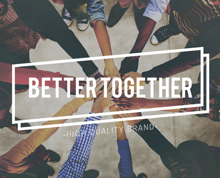 better: Better Together Unity Community Teamwork Concept
