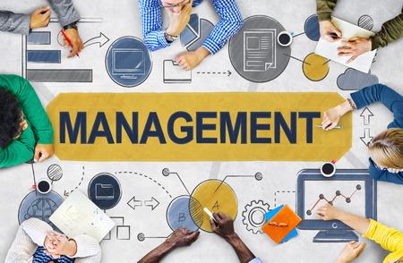management team: Management Organization Strategy Process Controlling Concept