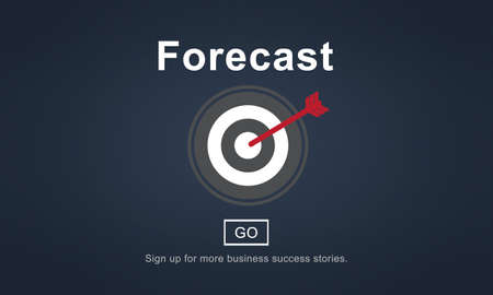 guess: Forecast Prediction Plan Goal Concept Stock Photo