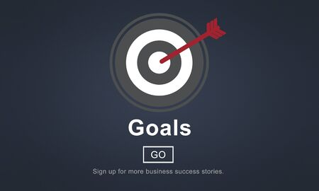 creer: Objetivos de aspiración Sueños Crea Objetivo concepto objetivo