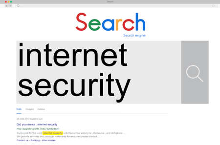 security technology: Internet Security Connection Technology Network Concept