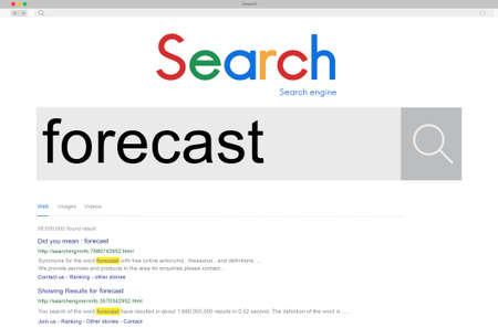 to foresee: Forecast Future Planing Prediction Strategy Estimate Concept