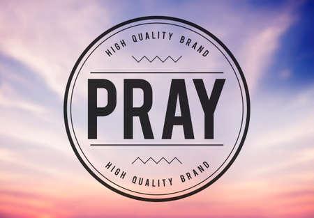 confession: Pray Praying Prayer Confession Faith Spiritual Hope Concept