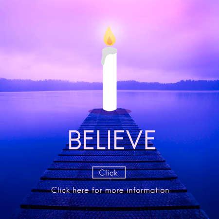 Believe Faith Trust Loyalty Mindset Trustworthy Concept