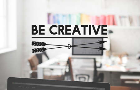 cretive: Be Cretive Perspective Inspiration Talent Skill Concept