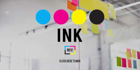 arty: Ink Abstract Arty Pattern Color Paint Liquid Concept