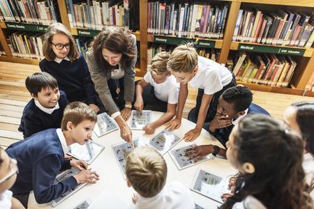 École Enseignant Enseigner aux élèves Apprentissage