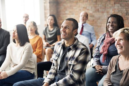 educaci�n: Seminario corporativa colaboraci�n concepto Equipos de la conferencia