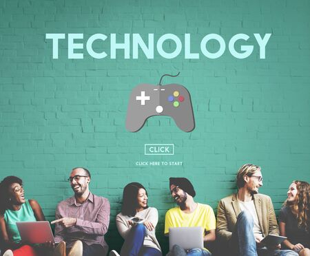 innovative: Technology Equipment Gaming Innovative Concept