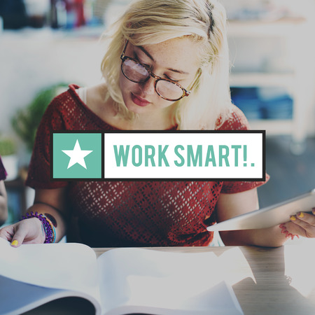 effective: Work Smart Productive Effective Management Concept