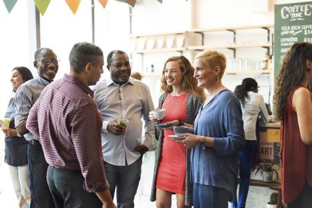 Diversity People Party Brunch Cafe Concept