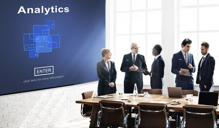 information analysis: Analytics Analysis Data Information Research Concept Stock Photo