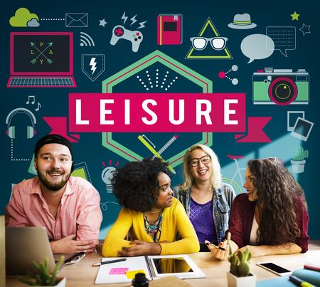 freetime activity: Leisure Activity Freetime Passion Hobbies Concept