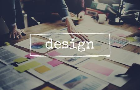 Concetto di idee di ispirazione creativa di design