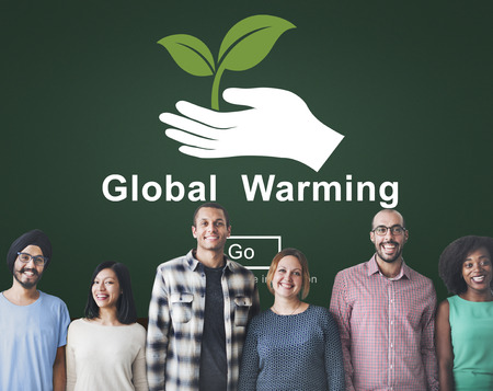 adult footprint: Global Warming Pollution Ecology Climate Concept