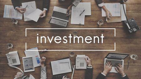 venture: Investment Fund Money Venture Share Concept Stock Photo