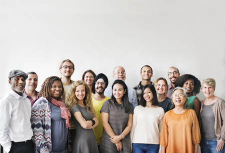 Diversity People Group Team Union Concept Reklamní fotografie