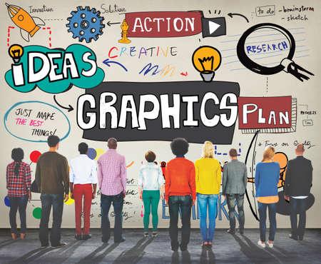 aspirational: Graphic Graphics Illustration Creative Design Concept