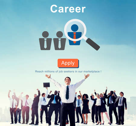 profession: Career Job Profession Apply Hiring Concept Stock Photo