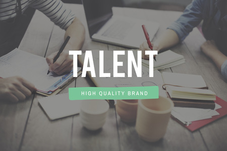 expertise: Talent Skill Abilities Expertise Quality Concept Stock Photo