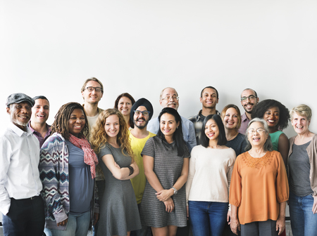 Diversidade Pessoas Grupo Equipa União Concept Imagens