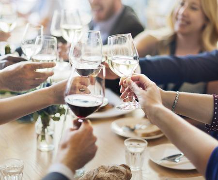 ビジネス人パーティーお祝いの成功の概念 写真素材 - 54853610