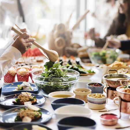 on occasion: Nutrition Occasion Restaurant Nourishment Food Concept Stock Photo