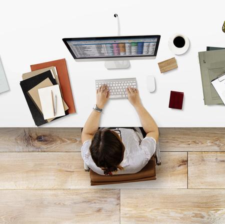 hoja de calculo: Concepto de Trabajo el informe de finanzas de negocios de hoja de c�lculo