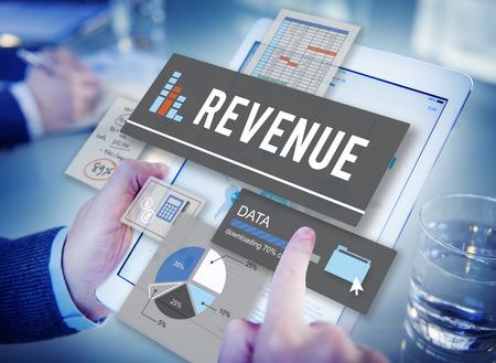 Доход Деньги Investment Research Концепция данных